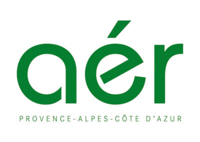 Maquette site web – Aér PACA