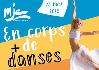 Affiche abribus – MJC de Salon de Provence
