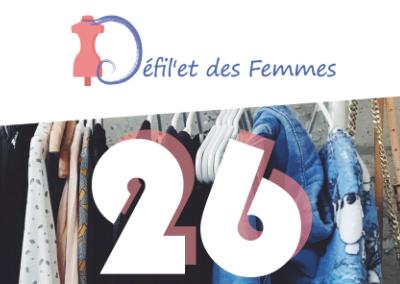Logo, affiche et flyer – Défil'et des femmes